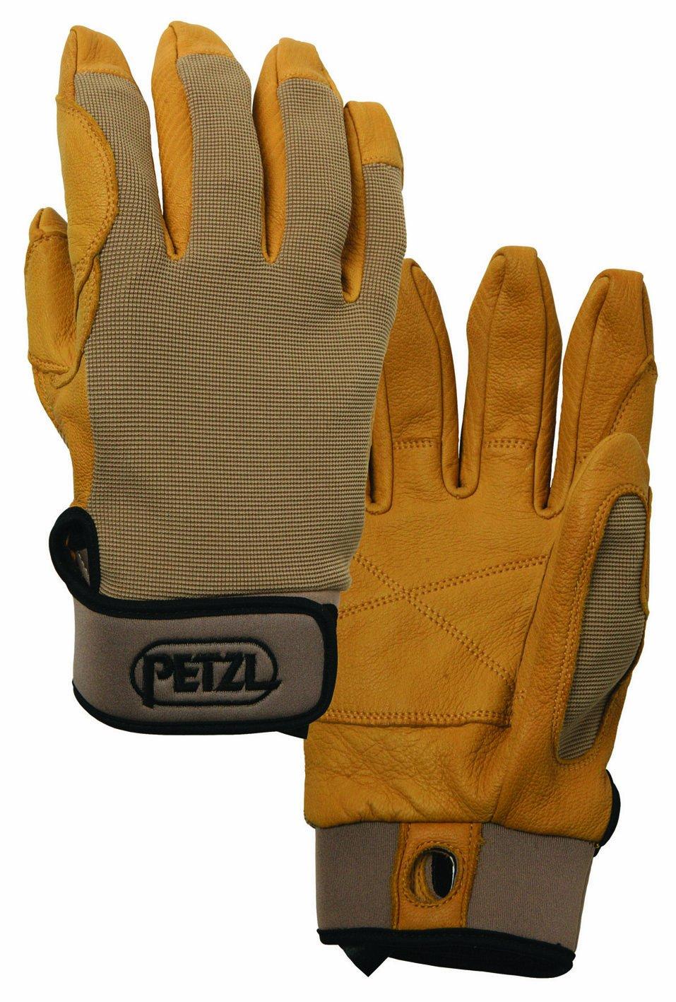 Petzl K52 XLT CORDEX Lightweight Belay/Rappel Glove, X-Large, Beige Petzl Company