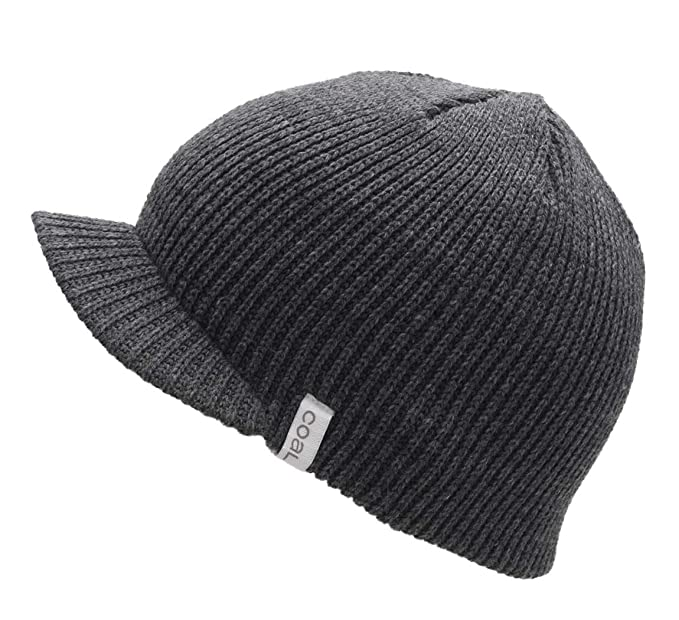 aed39146e4852 Coal - Bonnet Casquette visière Homme The Basic - Charcoal: Amazon ...