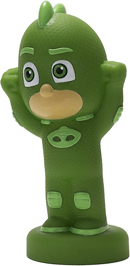 PJ Masks Illumi-Mate Gekko Mask, Verde, 5,3 x 6,4 x 13 cm