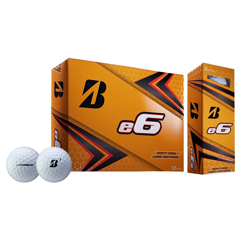 適切な価格 ブリヂストン B07PCMQFHF ブリヂストン 2019 e6 ホワイトゴルフボール - - 12個 B07PCMQFHF, スマコレ:031b401f --- a0267596.xsph.ru
