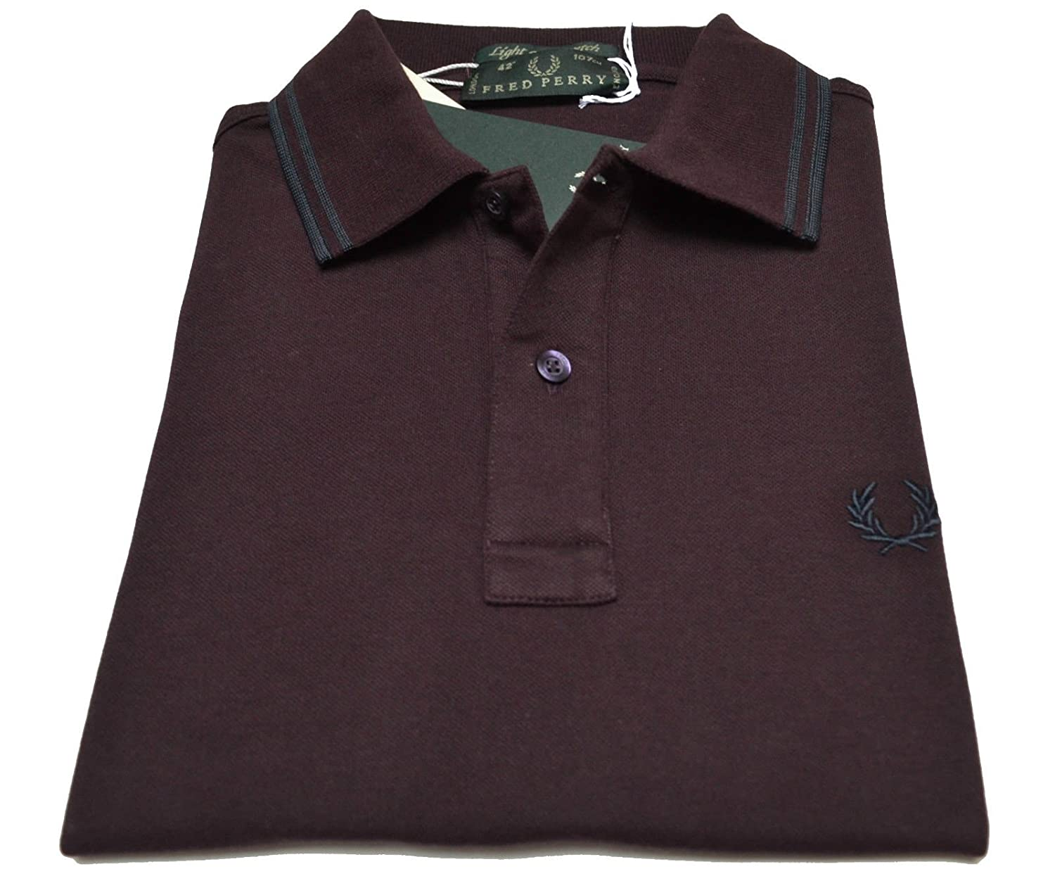 Fred Perry Polo T-Shirt camiseta para hombre Men Made Italy London ...