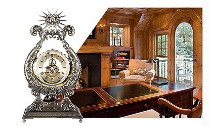 Rosemary@ Sala de ideas y elegantes relojes antiguos relojes europeos y reloj metal