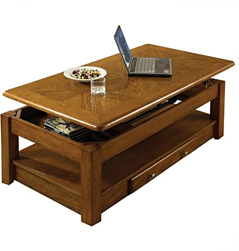 Steve Silver Nelson Lift-Top Cocktail Table, Oak