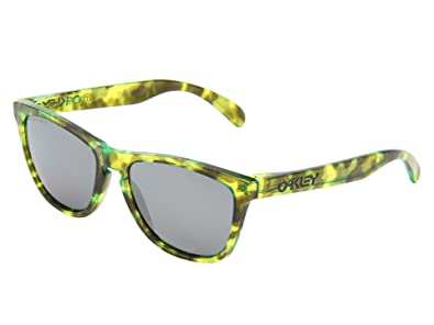 cbe25f39603 Amazon.com  Oakley Frogskins Polarized Acid Tortoise Green Black ...