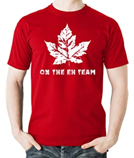 e013e49e048ac6 Youth Eh Team Canada T shirt Funny Canadian Shirts Kids Novelty T ...