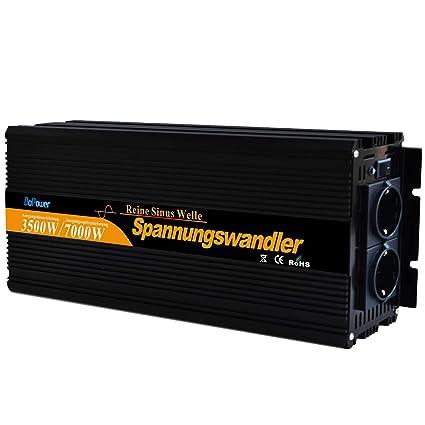 Inversor onda sinusoidal pura 3500 7000 Watt 24V 220V Convertidor Transformator