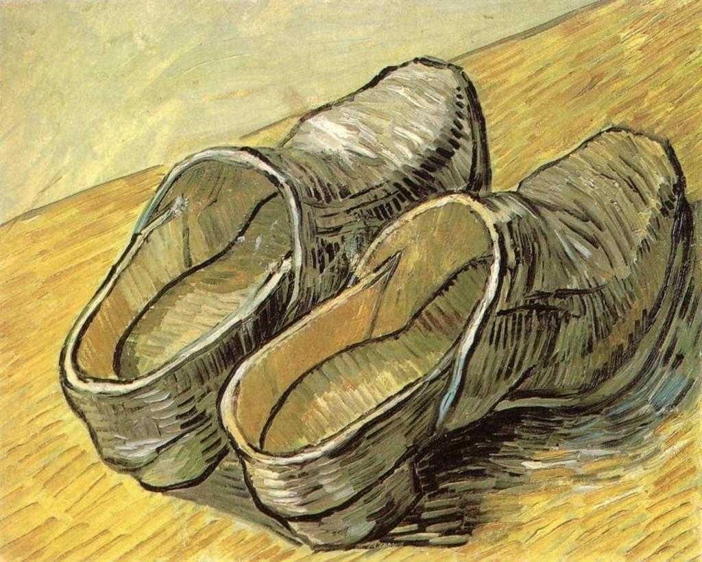 vincent van gogh le scarpe