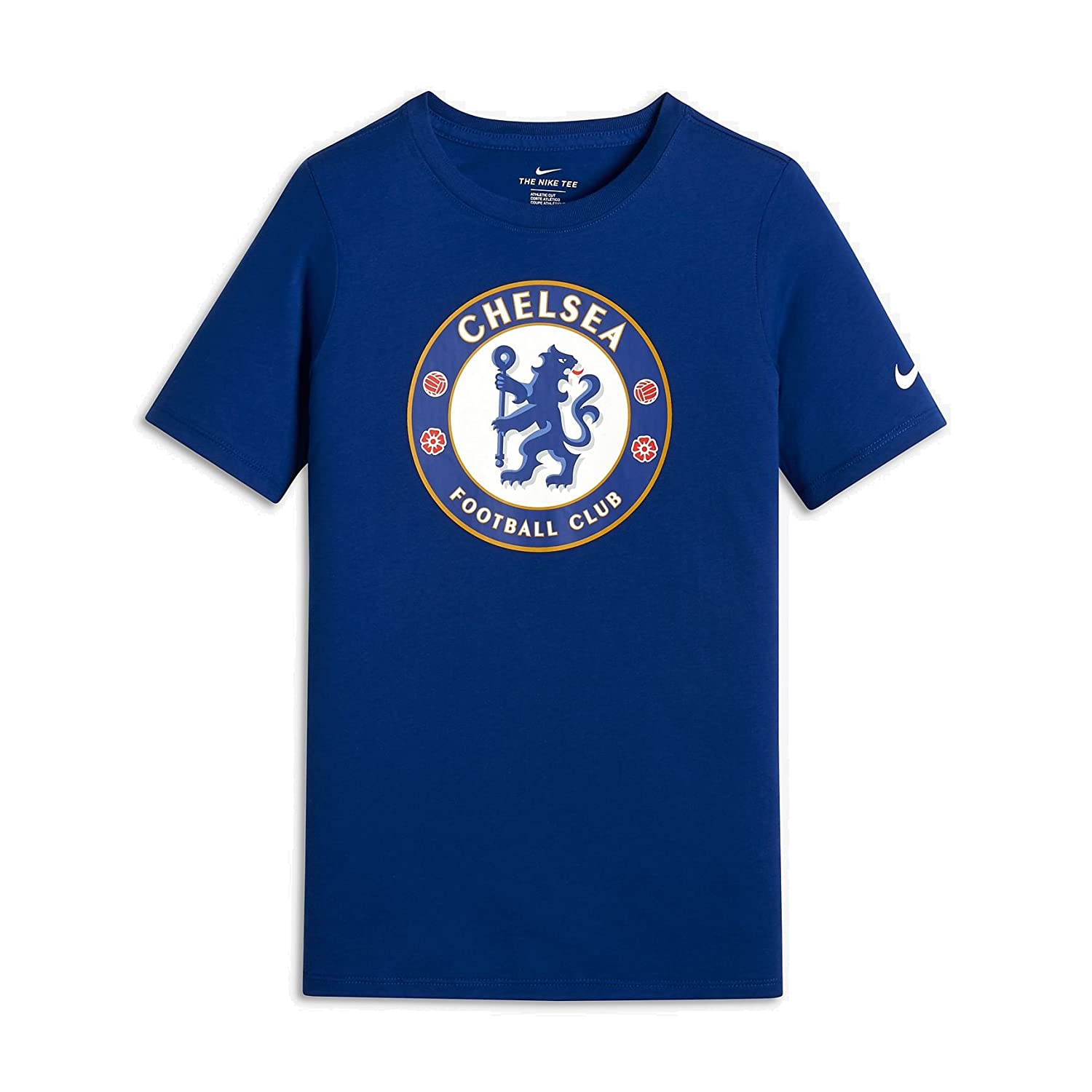 sneakers for cheap size 40 info for Amazon.com : Nike 2018-2019 Chelsea Crest T-Shirt (Blue ...