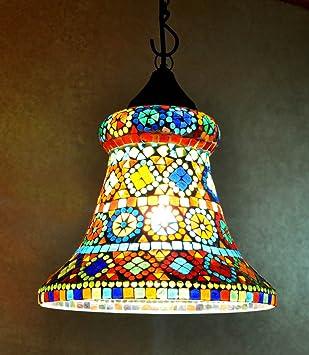 Indien Accueil Deco Lampe Suspension Vintage Lampe Suspendue Amazon