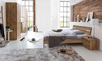 lifestyle4living Schlafzimmer, Schlafzimmermöbel, Set Komplett ...