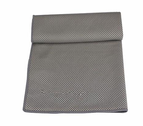 Deportes sudores toallas fitness Running Natación Tenis de Mesa Tenis toallas secas gris