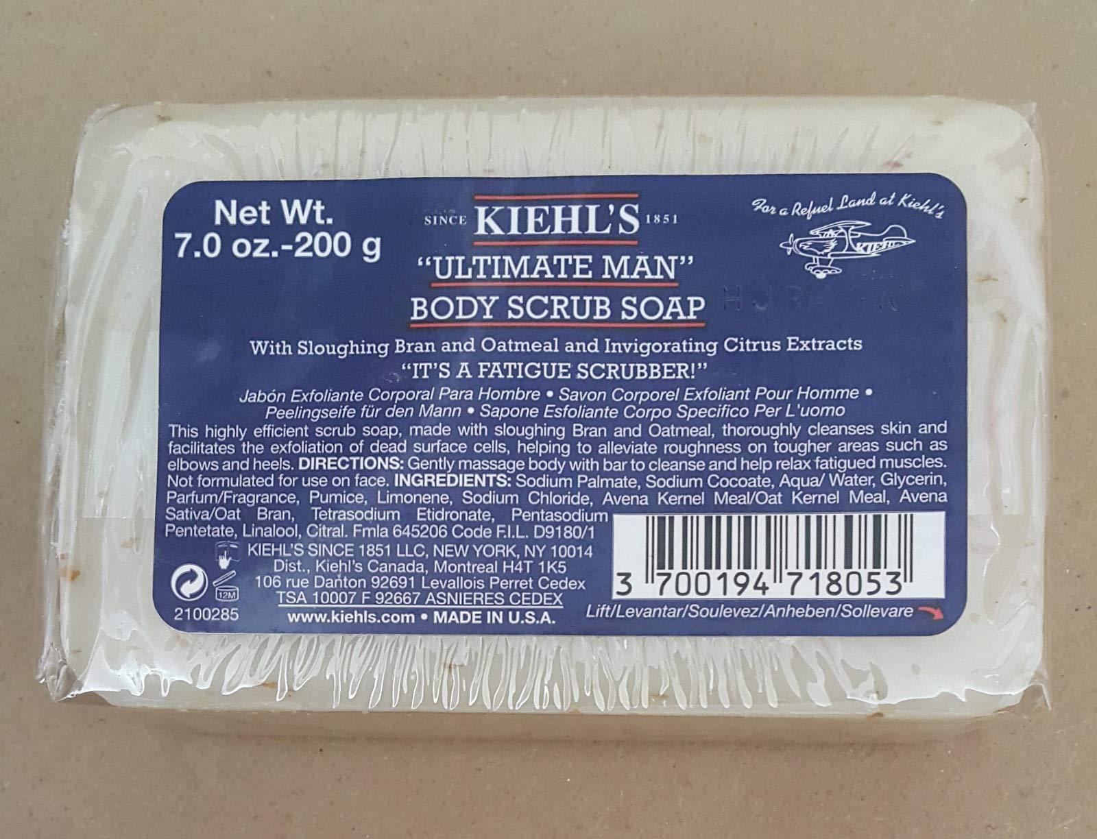 Ultimate Man Body Scrub Soap 200 g.