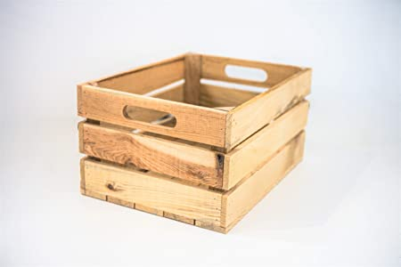 Caja 1 Unidad Almacenamiento con Asas Sam, Madera, Natural ...