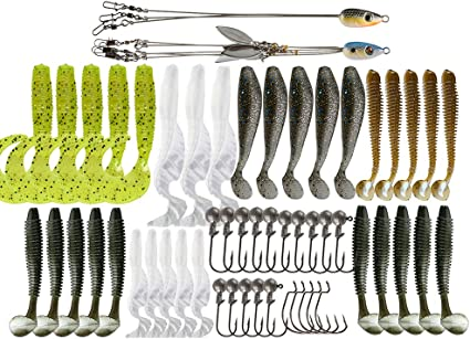 Details about  /5 Pcs ALABAMA Rig 5 Wire Arms Umbrella Bass Fishing Umbrella Rig 5 Colors DD