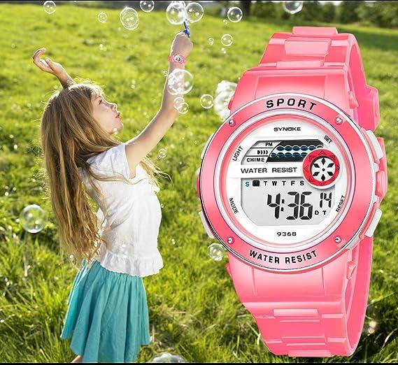 Rcool Relojes suizos relojes de lujo Relojes de pulsera Relojes para mujer Relojes para hombre Relojes deportivos,Reloj de pulsera digital impermeable LED ...