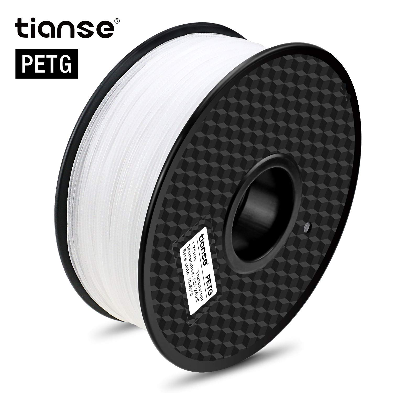 TIANSE Filamento de PETG para la impresora 3D / Pluma 3d, 1 ...