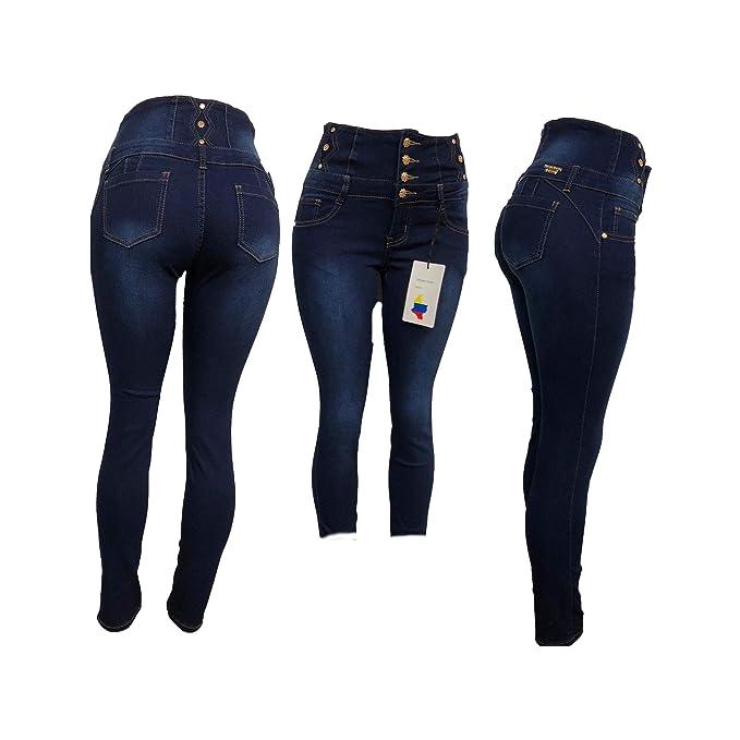 Amazon.com: Tush Push TP 1293 - Pantalones vaqueros de ...