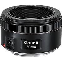 Canon EF 50mm f/1.8 STM Standard Lens for DSLR Cameras (Black)