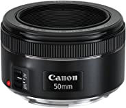 Lente EF 50mm f/1.8 STM, Canon, Preto