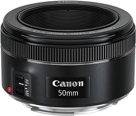 Canon EF 50mm f/1.8 STM - Objetivo: Amazon.es: Electrónica