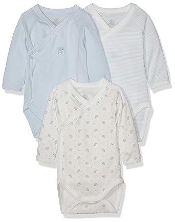 da34b4e83 Petit Bateau Lot Baltic Body (3 Bébé garçon: Amazon.fr: Vêtements et  accessoires