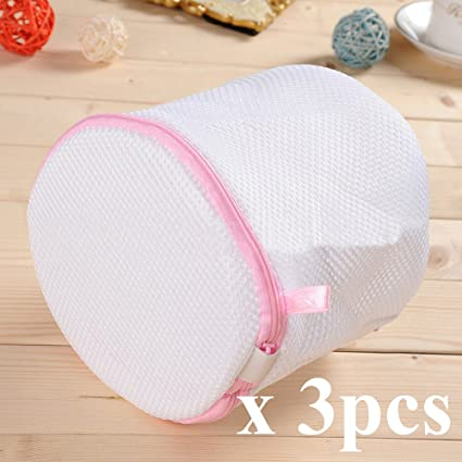 d64553ad19ef Amazon.com: INTBUYING Set of 3 Mesh Laundry Bra Wash Bags for ...
