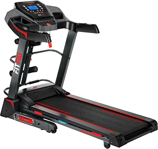 Fitfiu Fitness MC-500 - Cinta de correr plegable con inclinación automática, velocidad regulable hasta 18 km/h, superficie de carrera de 41 x 123 cm, ...