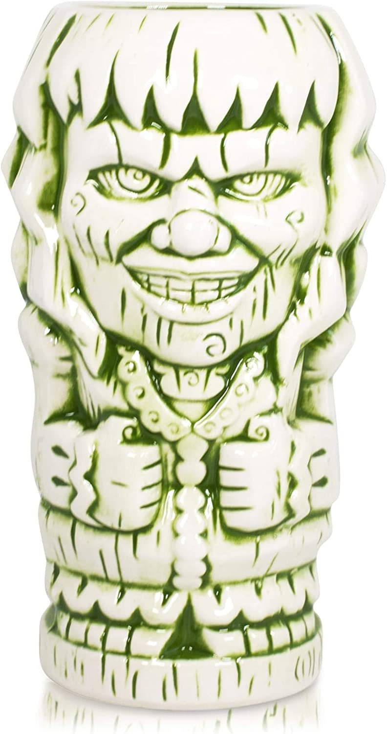 Geeki Tikis The Exorcist Horror Movie Regan Tiki Mug | Geeki Tikis Horror Series Official The Exorcist Collectible Ceramic Tiki Style Cup | Holds 18 Ounces
