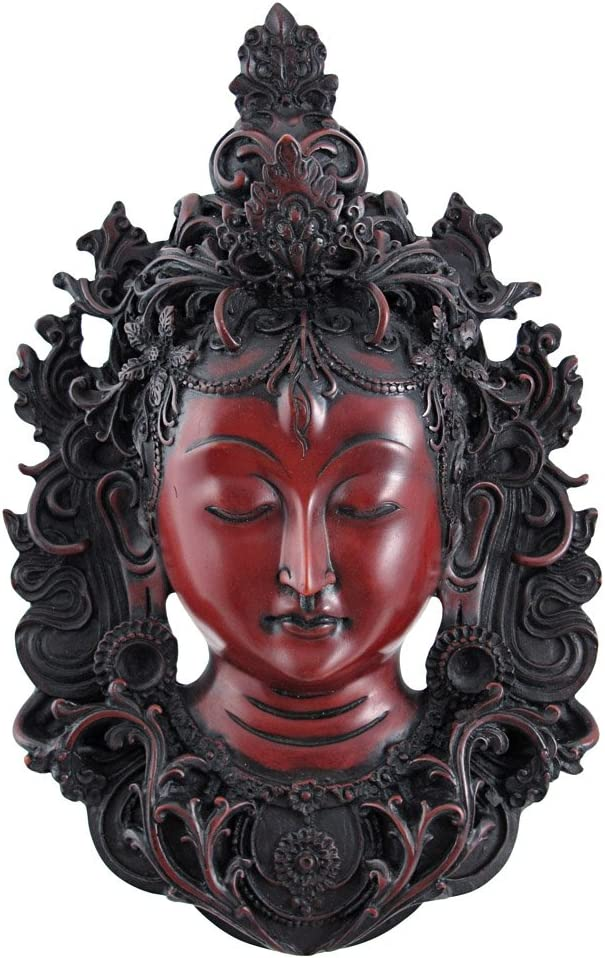 Things2Die4 Beautiful White Tara Mask Wall Hanging