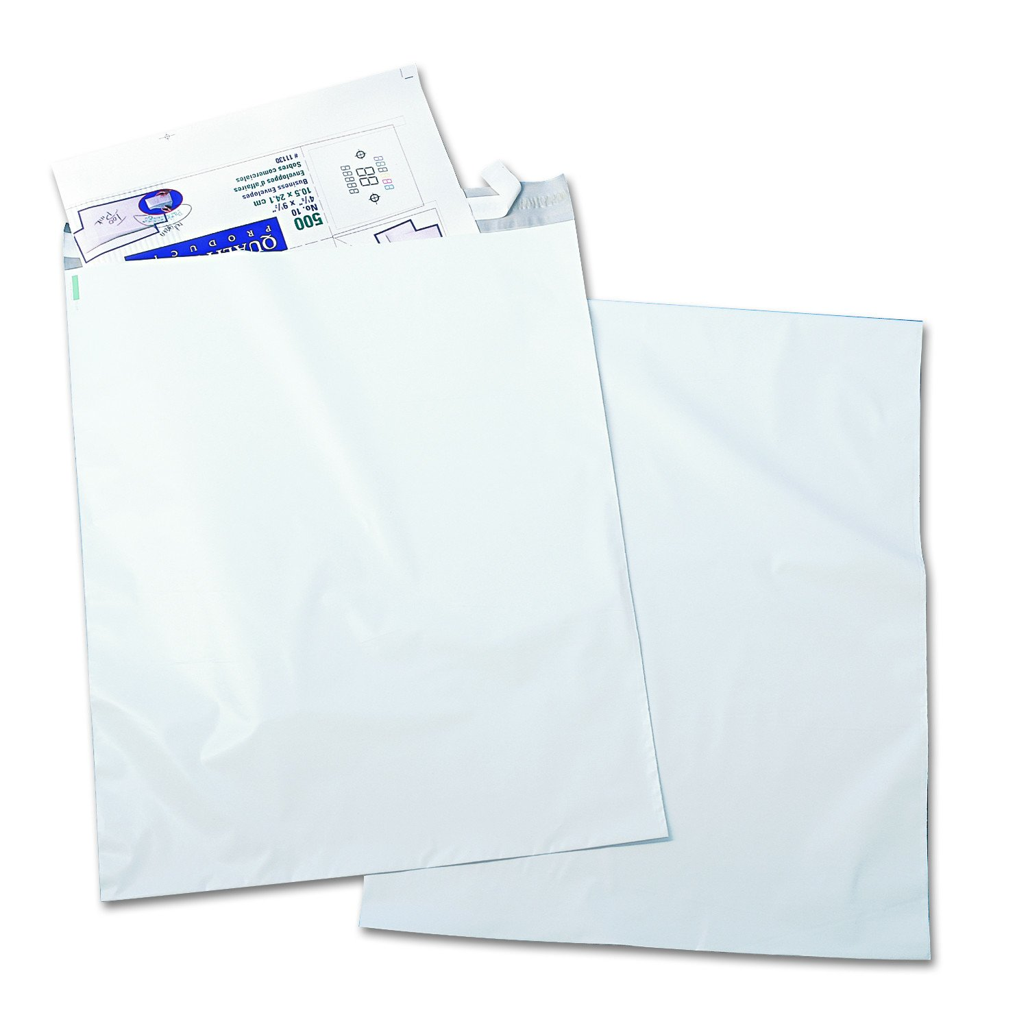 Quality Park 45235 Redi Strip Poly Mailer, 14 x 19, White (Pack of 100)