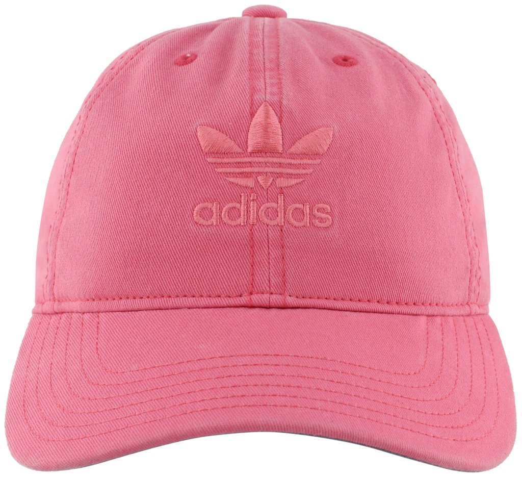 adidas Women's Originals Relaxed Adjustable Strapback Cap, Chalk Pink, One Size
