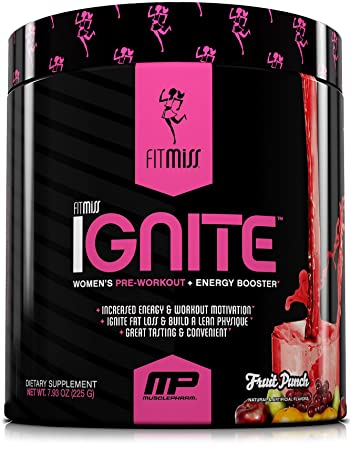 611605a46 FitMiss Ignite, Women's Pre-Workout Supplement & Energy Booster for Fat  Loss, Supports