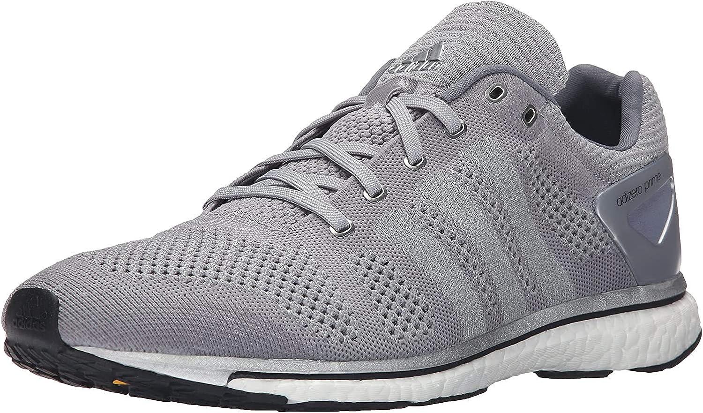 Adidas Adizero Prime Boost Tamaã±o de los Zapatos Mid Grey Silver White