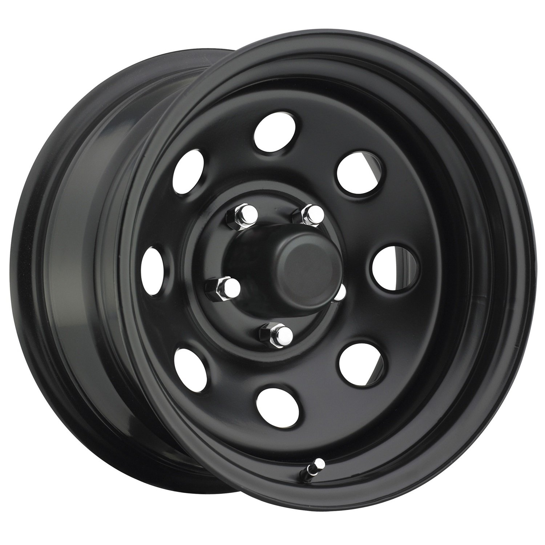 5x4.5 ;Back Space 3.75 in.; Finish Flat Black; Trailmaster TM9-5865F TM9 Steel Wheel; Size 15X8 ;Bolt Pattern