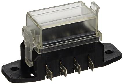 amazon com hella h84960071 4 way lateral single fuse box automotive rh amazon com Circuit Breaker Box single pole fuse box
