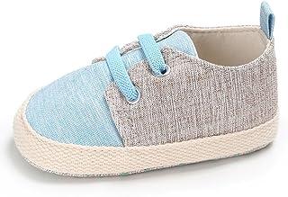 HKFV , Chaussures Souples pour bébé (Fille) Beige Beige
