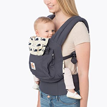 san francisco d1cfd fa8bf Amazon.com   Ergobaby Original Ergonomic 3 Position Baby Carrier - Marine    Baby