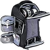 Kamerapublick, Beschoi vattentät kameraväska med stativrem och regnskydd stor kapacitet ryggsäck för digital SLR-kamera…