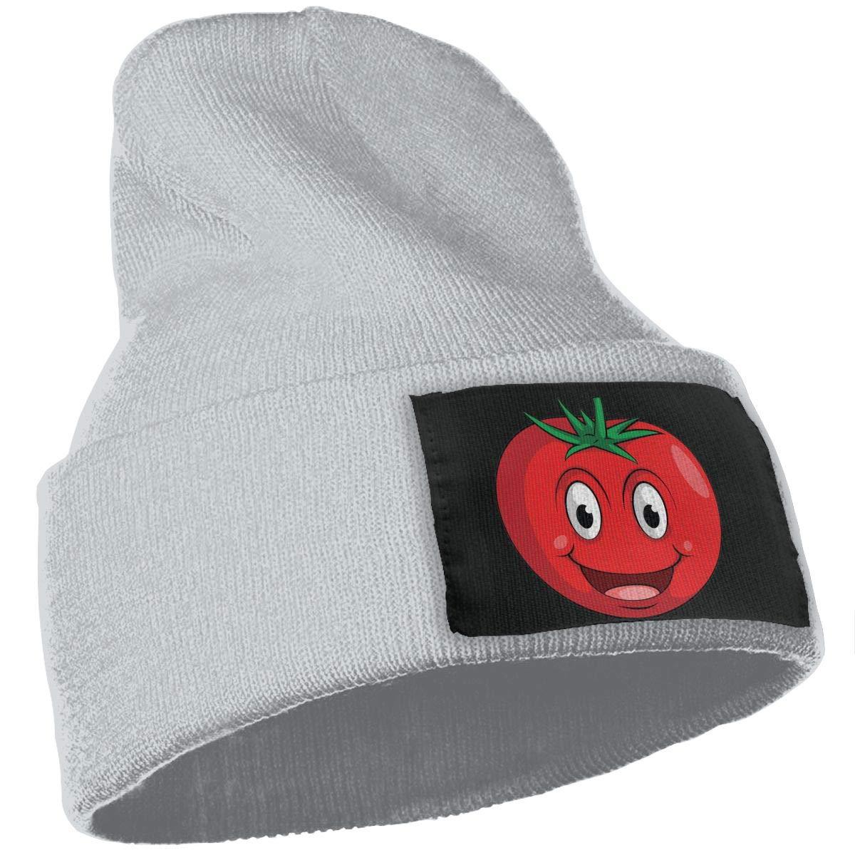 Smile Tomato Warm Winter Hat Knit Beanie Skull Cap Cuff Beanie Hat Winter Hats for Men /& Women