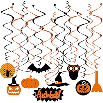 Amosfun Casa Embrujada de Halloween Colgando Decoraciones del ...