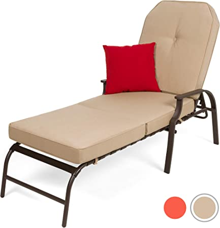 Adjustable Outdoor Chaise Lounge - The Most Comfortable Outdoor Lounger