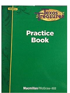 Amazon harcourt horizons texas student edition grade 4 texas treasures practice book grade 4 fandeluxe Gallery