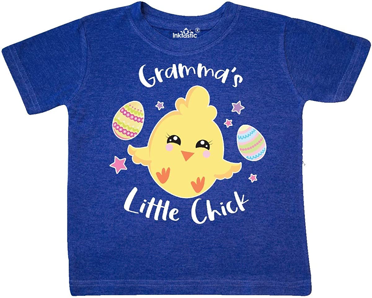 inktastic Happy Easter Grammas Little Chick Toddler T-Shirt