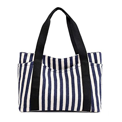 Amazon.com: KVKY New Women Canvas Handbags For Shoulder Bag ...