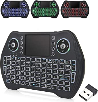 Black Wireless Mini Ultra Slim Keyboard and Mouse For Easy Smart TV Contol for Droibox Ace Quad Core Android 4.2 TV BOX Smart TV