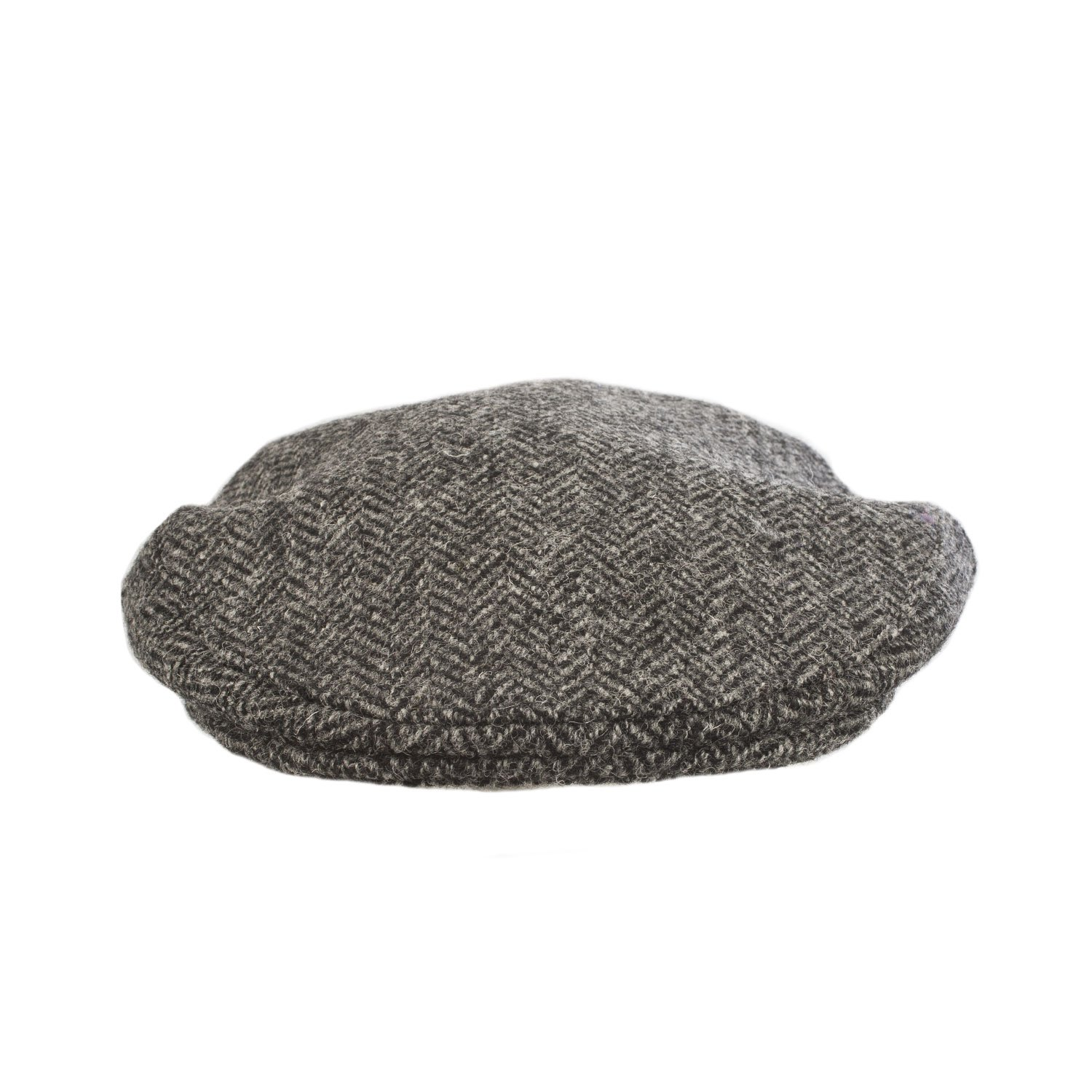 GLEN APPIN Men s Classic British Harris Tweed County Cap Charcoal (XL) at  Amazon Men s Clothing store  557e23cee57d