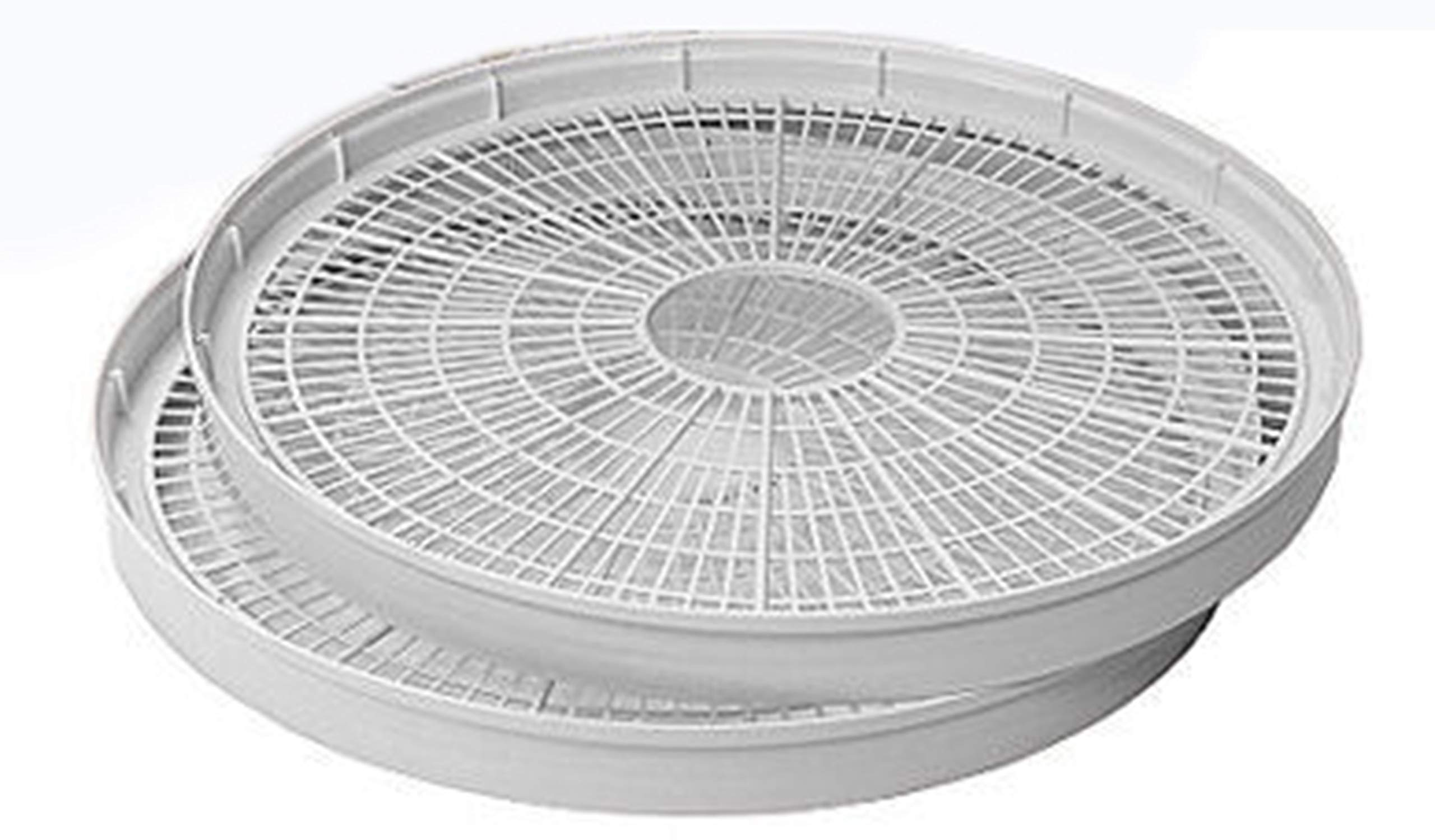 NESCO WT-2, Add-a-Tray for Dehydrators FD28JX and FD-35, White, Set of 2 by Nesco