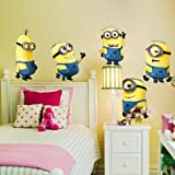 Wall Stickers Vinyl Art Decals Room Kid Decor Minions Removable