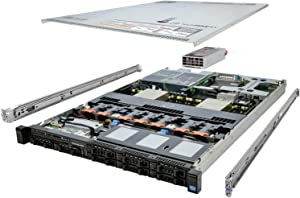 TechMikeNY Server 2X E5-2670 2.60Ghz 16-Core 32GB H710 Rails PowerEdge R620 (Renewed)