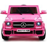 2017 Licensed Mercedes G65 Powered Wheels 12V Ride on Toy Car Battery Powered with New Remote Control, Upgraded Engine,